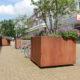 Stedelijk Groen Corten Staal - COR-TEN-staal - weervast staal