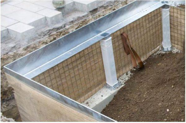 Humberg groeiplaats constructies