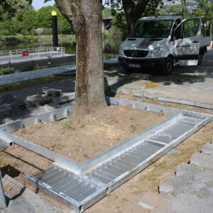 Stedelijk groeiplaatsconstructies boombescherming humberg